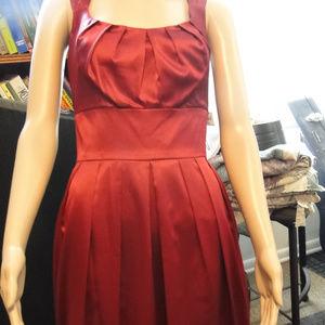 Blue-Red Dressy Dress